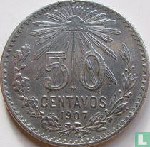 Mexico 50 centavos 1907 (rechte 7)