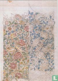 Design for Rose textile, 1883