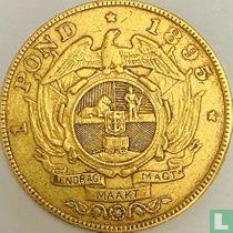 Afrique du Sud 1 pond 1895