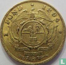 Afrique du Sud 1 pond 1894