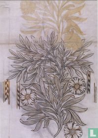 Design for embroidery, 1875-77