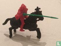 Knight on horseback