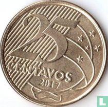 Brazilië 25 centavos 2017
