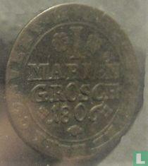 Brunswick-Wolfenbuttel 1 mariengroschen 1806