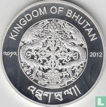 "Bhutan 300 ngultrums 2012 (PROOF) ""2014 Winter Olympics in Sochi"""