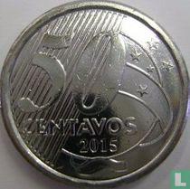 Brazilië 50 centavos 2015