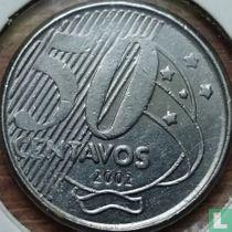 Brazilië 50 centavos 2002