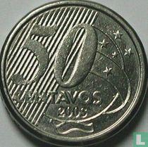 Brazilië 50 centavos 2003