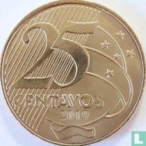 Brazilië 25 centavos 2019