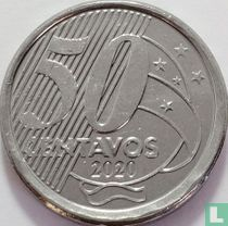 Brazilië 50 centavos 2020