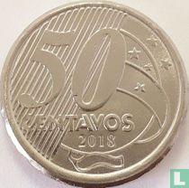 Brazilië 50 centavos 2018