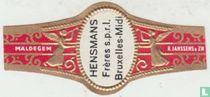 HENSMANS Frères s.p.r.l. Bruxelles-Midi - Maldegem - R. Janssens & Zn