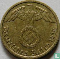 Duitse Rijk 5 reichspfennig 1936 (hakenkruis - G)