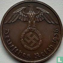 Duitse Rijk 2 reichspfennig 1936 (hakenkruis - D)