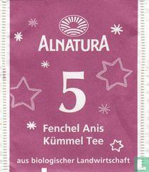 5 Fenchel Anis Kümmel Tee