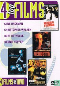 Under Suspicion + Vendetta + Physical Evidence + The Spreading Ground