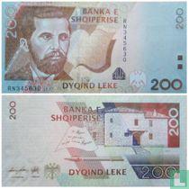 Albanie 200 Leke 2012