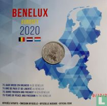 """Benelux mint set 2020 """"75 years of peace and freedom"""""""