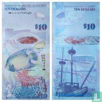 Bermuda 10 Dollars 2009