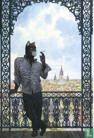 Blacksad au balcon