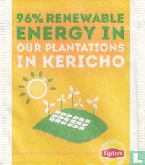 96% Renewable Energy
