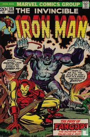 The Invincible Iron Man 56