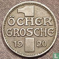 Aachen 1 öcher grosche 1920