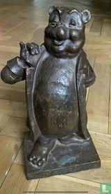 Bronzen Beeld Bommel groot formaat (38 cm)