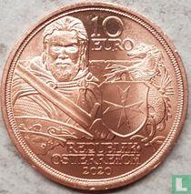 """Austria 10 euro 2020 (copper) """"Fortitude"""""""