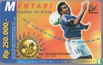 FIFA Worldcup 1998 Christian Karembeu