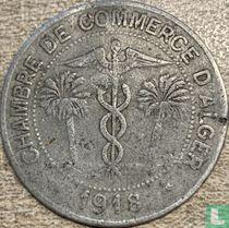 Algeria 10 centimes 1918