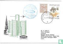 First Brussels-Detroit air link