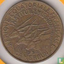 Cameroon 25 francs 1958
