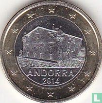 Andorra 1 euro 2014
