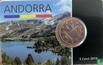 Andorra 5 cent 2014 (coincard)