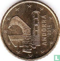 Andorra 50 cent 2014