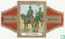 Húsar  y Lancero 1848