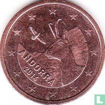 Andorra 5 cent 2014