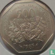 Cameroon 500 francs 1985