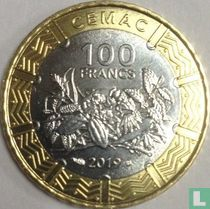 Central African States 100 francs 2019