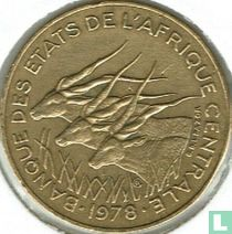 Centraal-Afrikaanse Staten 10 francs 1978