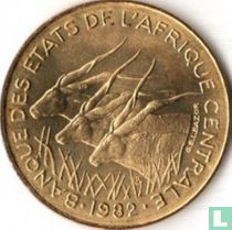 Centraal-Afrikaanse Staten 10 francs 1982