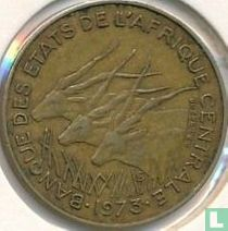 Centraal-Afrikaanse Staten 5 francs 1973