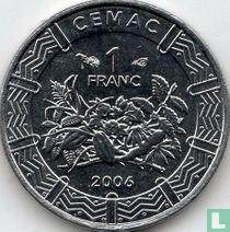 Centraal-Afrikaanse Staten 1 franc 2006