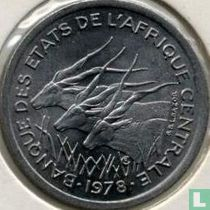 Central African States 1 franc 1978