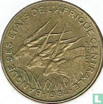Centraal-Afrikaanse Staten 5 francs 1984