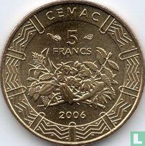 Centraal-Afrikaanse Staten 5 francs 2006