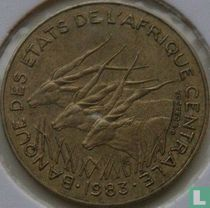 Centraal-Afrikaanse Staten 5 francs 1983