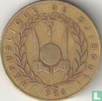 Djibouti 20 francs 1986