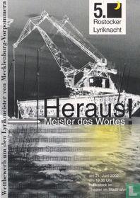 "Rostocker Lyriknacht ""Heraus!"""